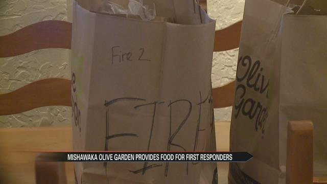 Business gives first responders free lunch Monday