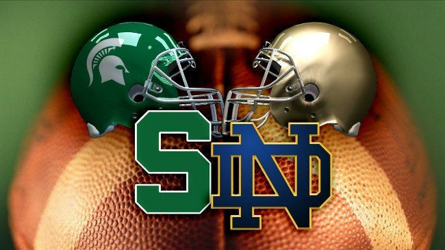Notre Dame, Michigan State set for showdown