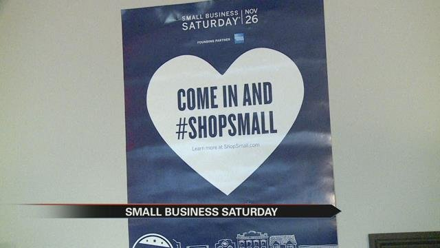 Businesses encourage customers to shop local