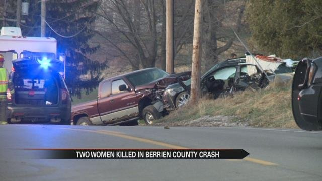Berrien County crash kills two women