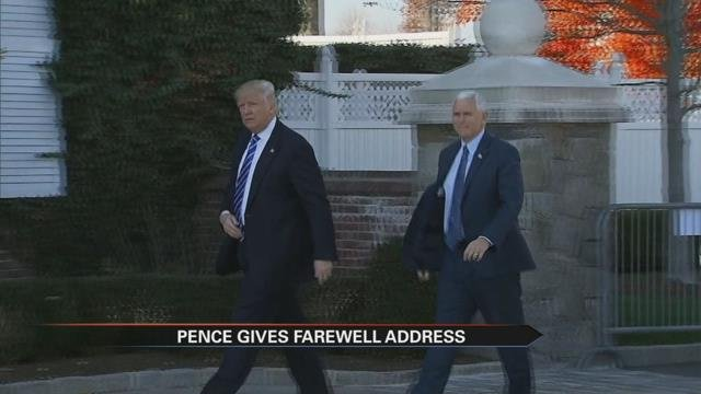 Holcomb replaces Pence as IN governor