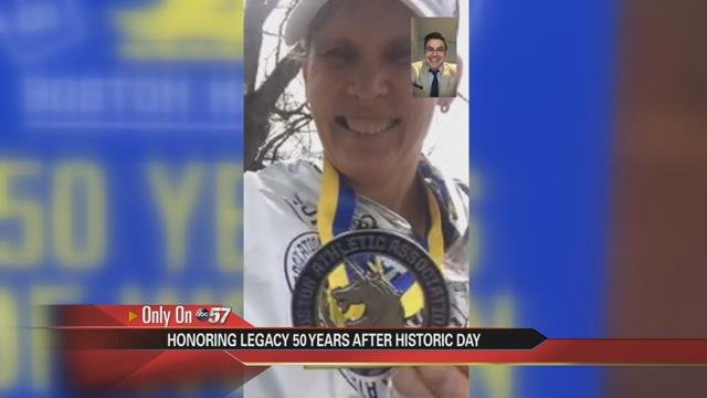 Strong debut for NH's top Boston Marathon finisher
