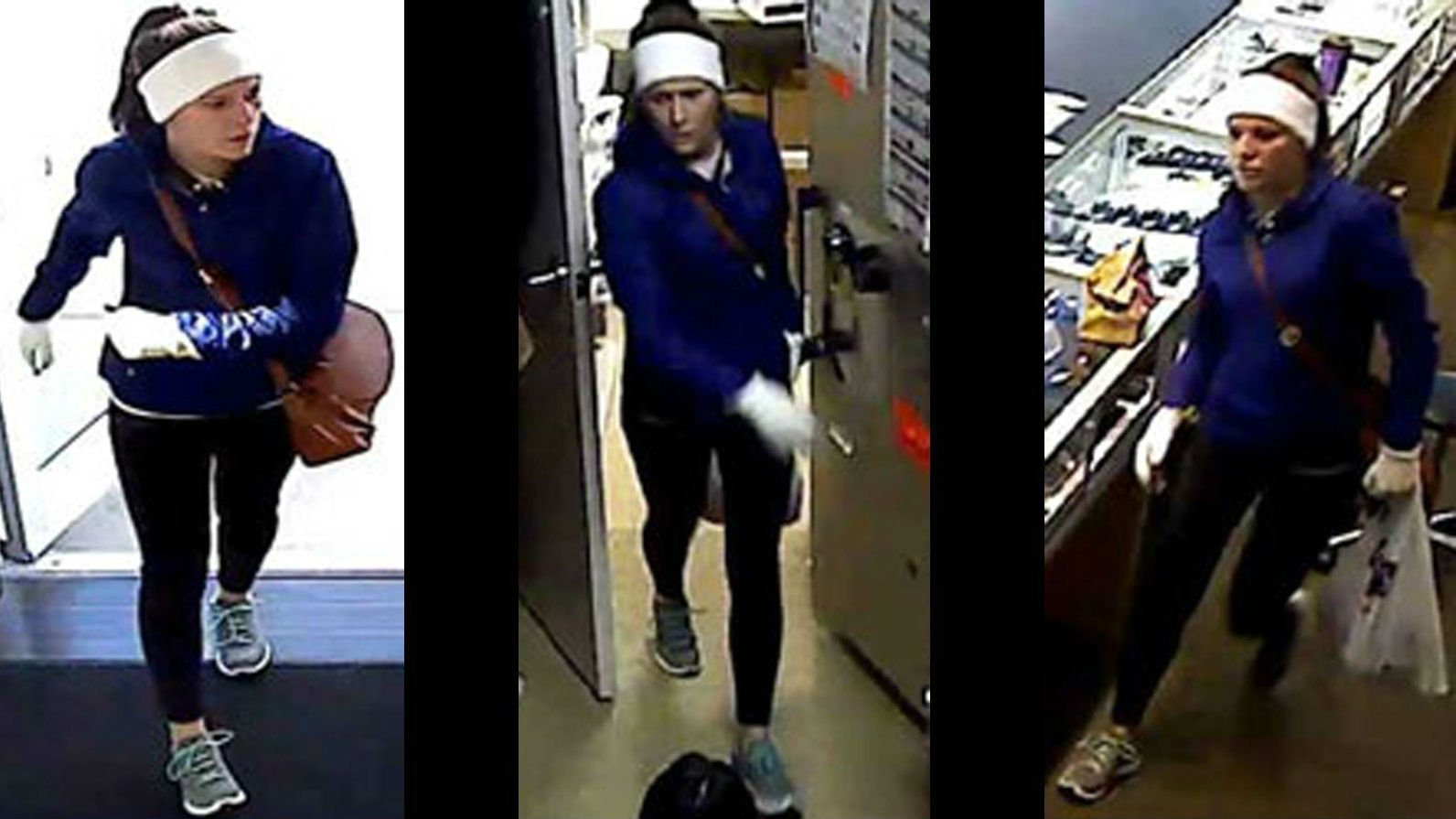 Federal Bureau of Investigation arrests woman in string of jewelry store robberies