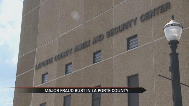 Major fraud bust in la porte county abc57 news see the for La porte city jail